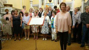 Frühlingskonzert mit dem gemischten Chor Großbeeren @ Schinkelkirche Großbeeren
